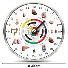 Chinese Organ Clock  Ø30cm